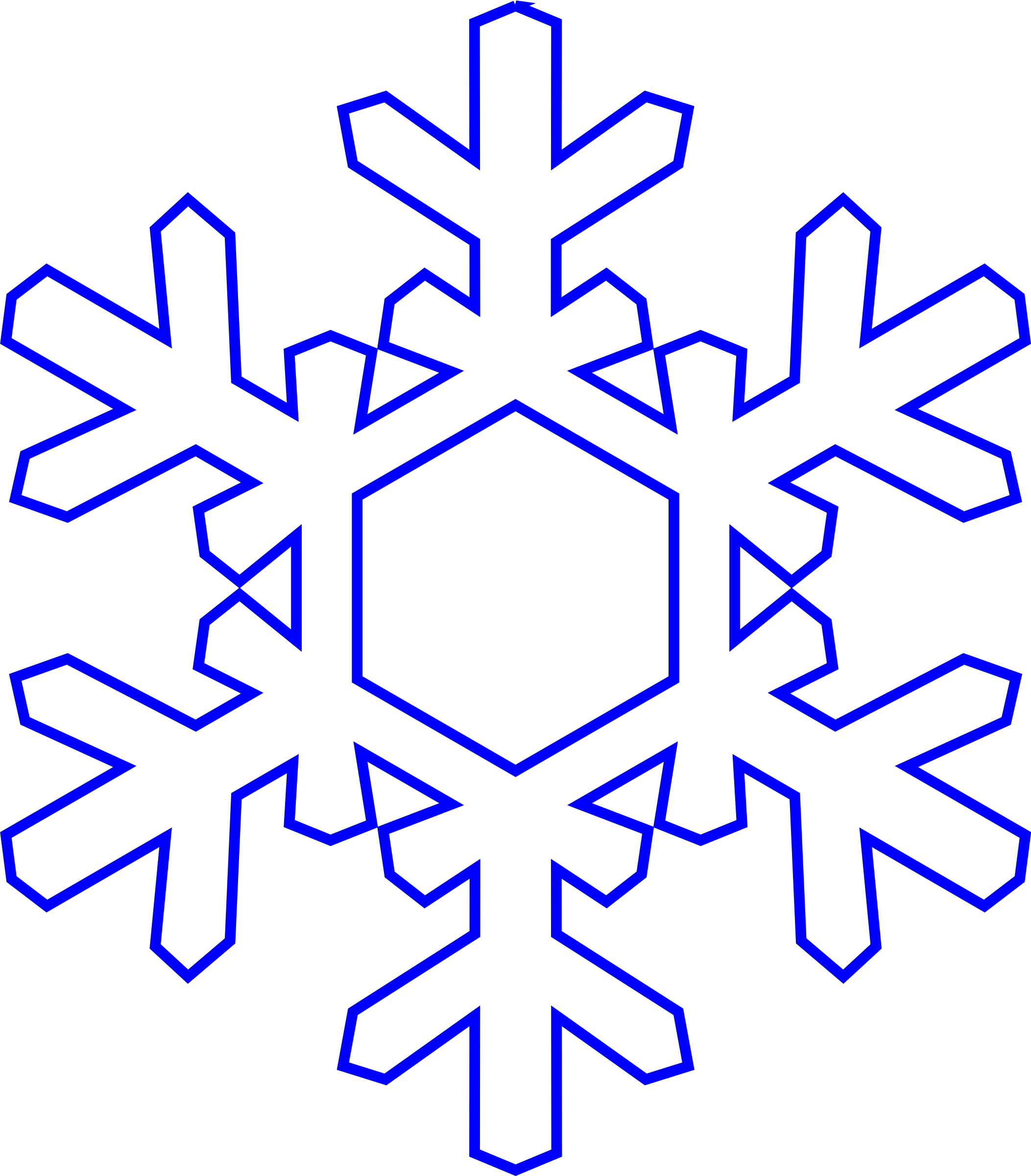 snowflake vector graphic image free stock photo public domain rh goodfreephotos com white snowflake vector art snowflake vector art free