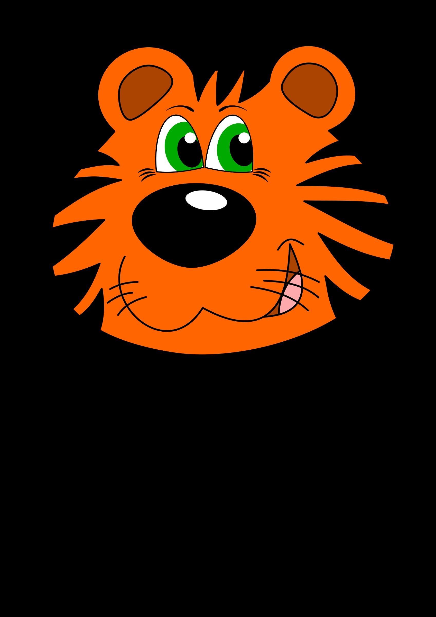 Free Cartoon Tiger Clipart, Download Free Clip Art, Free Clip Art on Clipart  Library