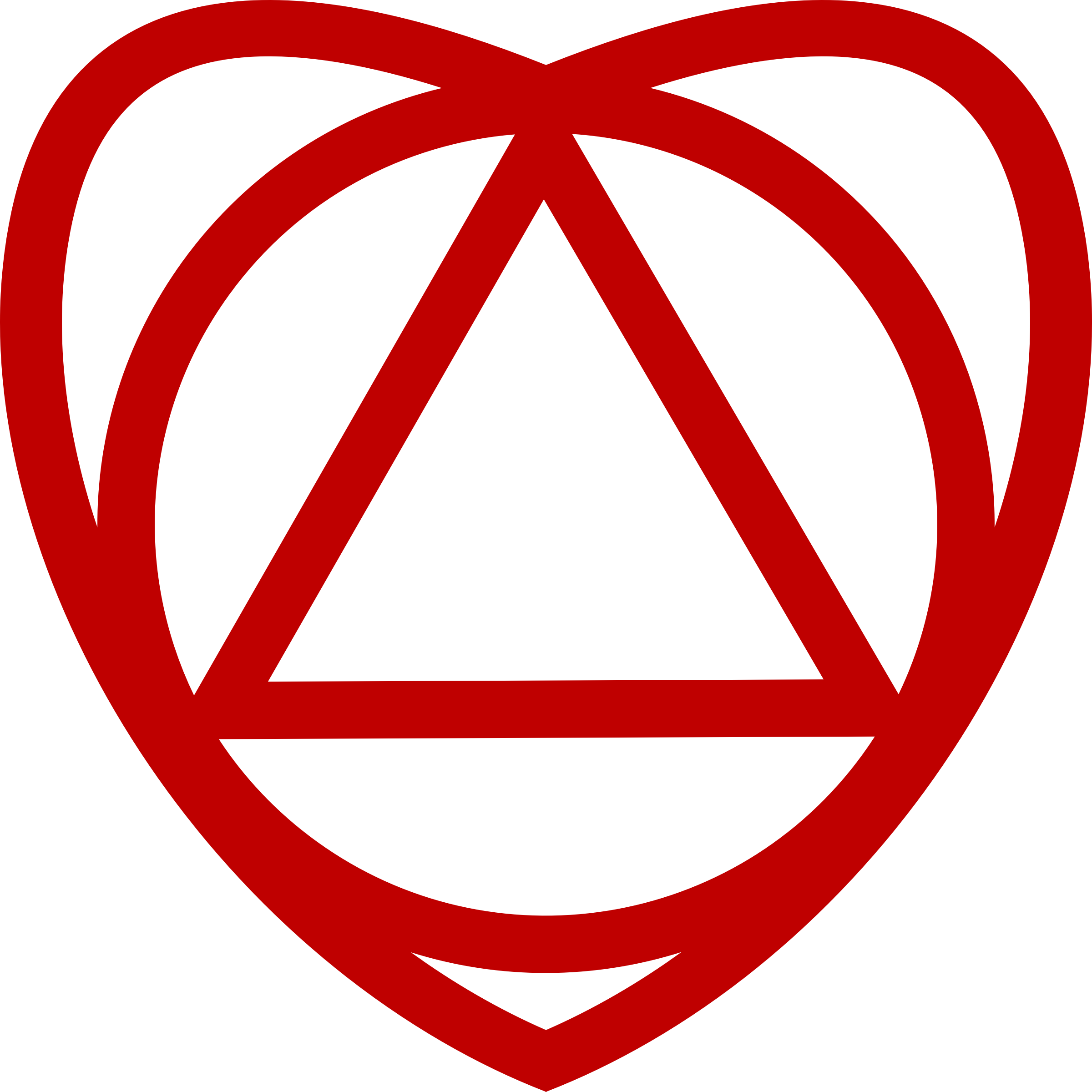 Free stock photo of triangle in circle in heart vector clipart triangle in circle in heart graphic by philip barrington buycottarizona