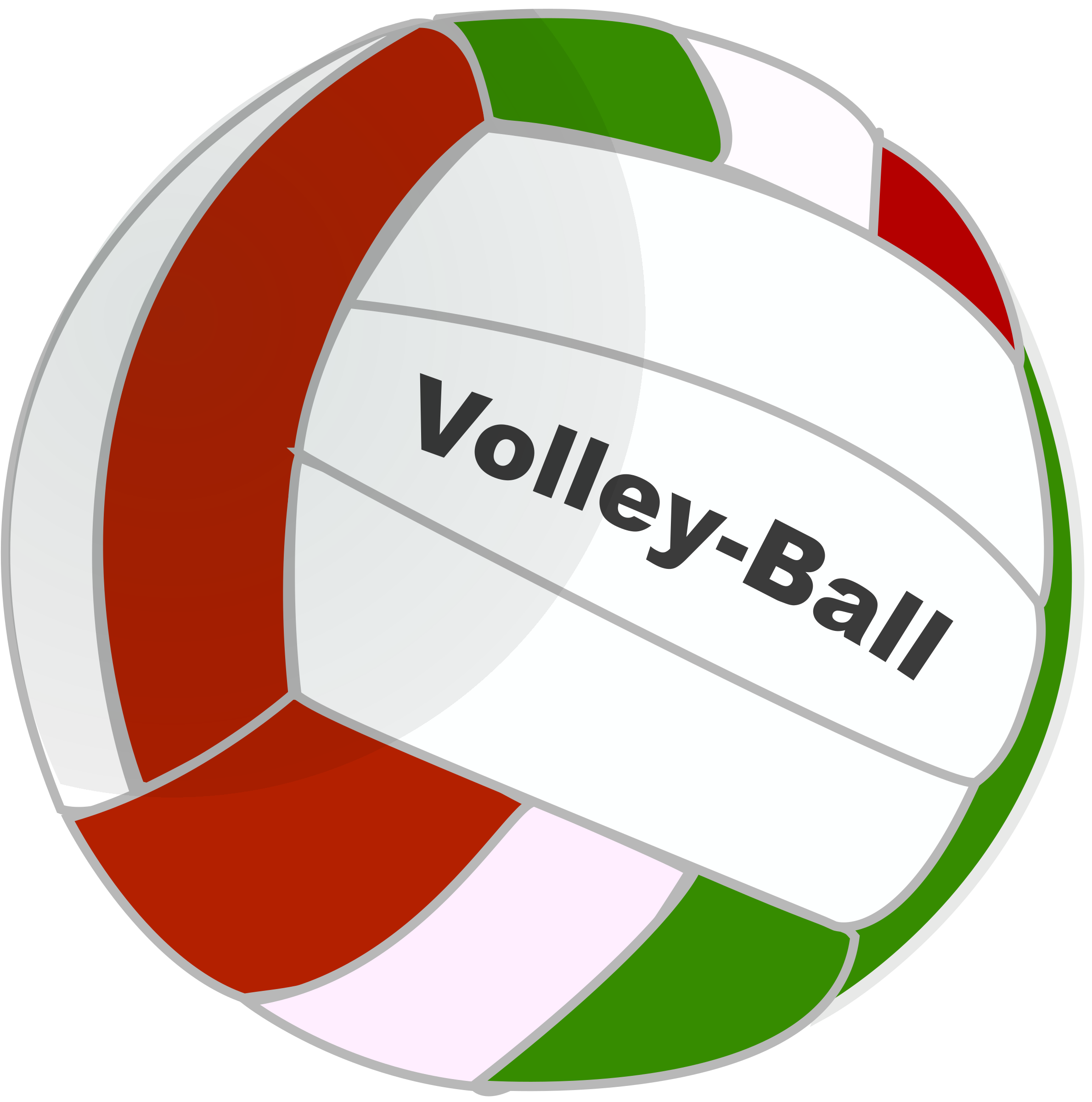 volleyball clipart vector-#26
