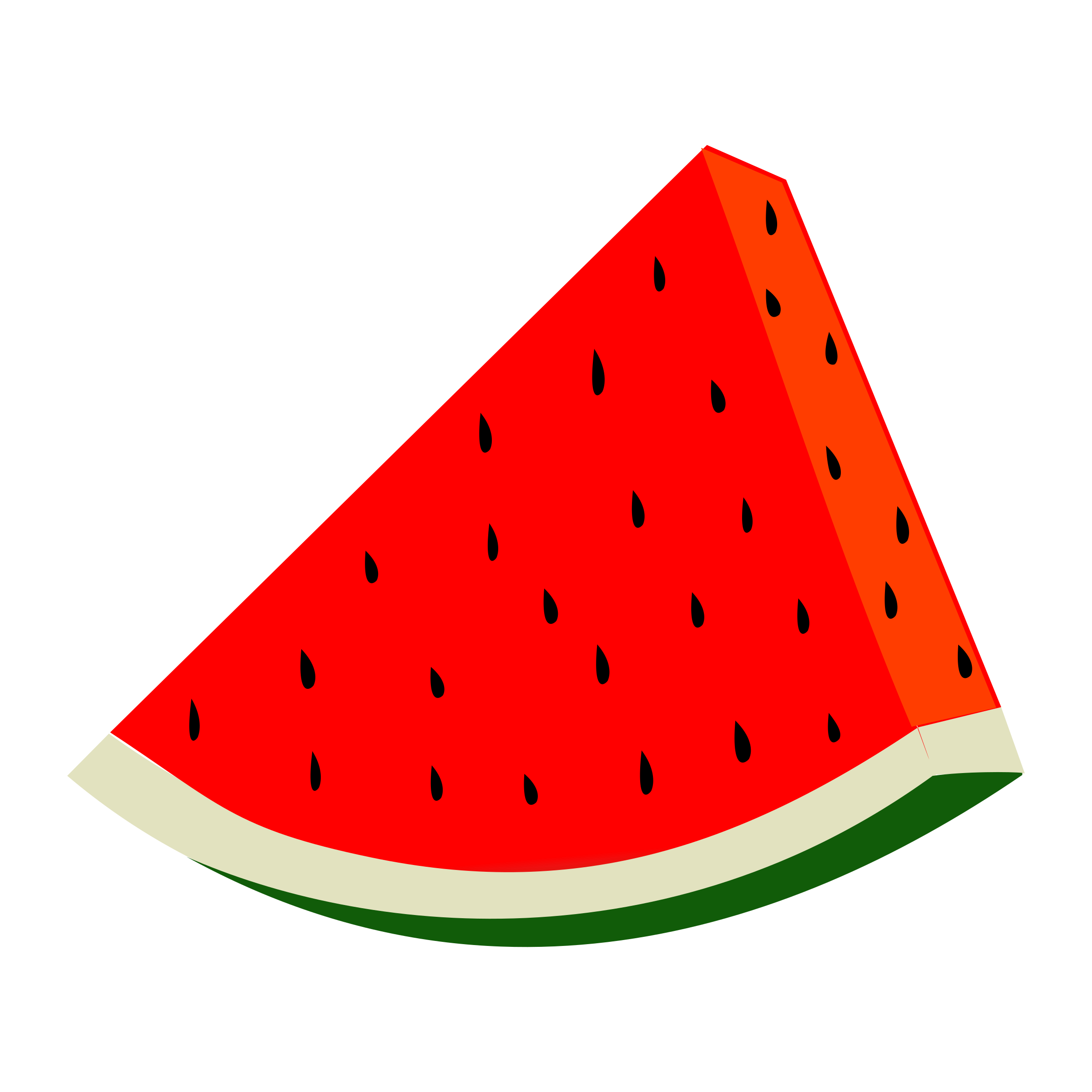 Watermelon vector clipart image - Free stock photo ...