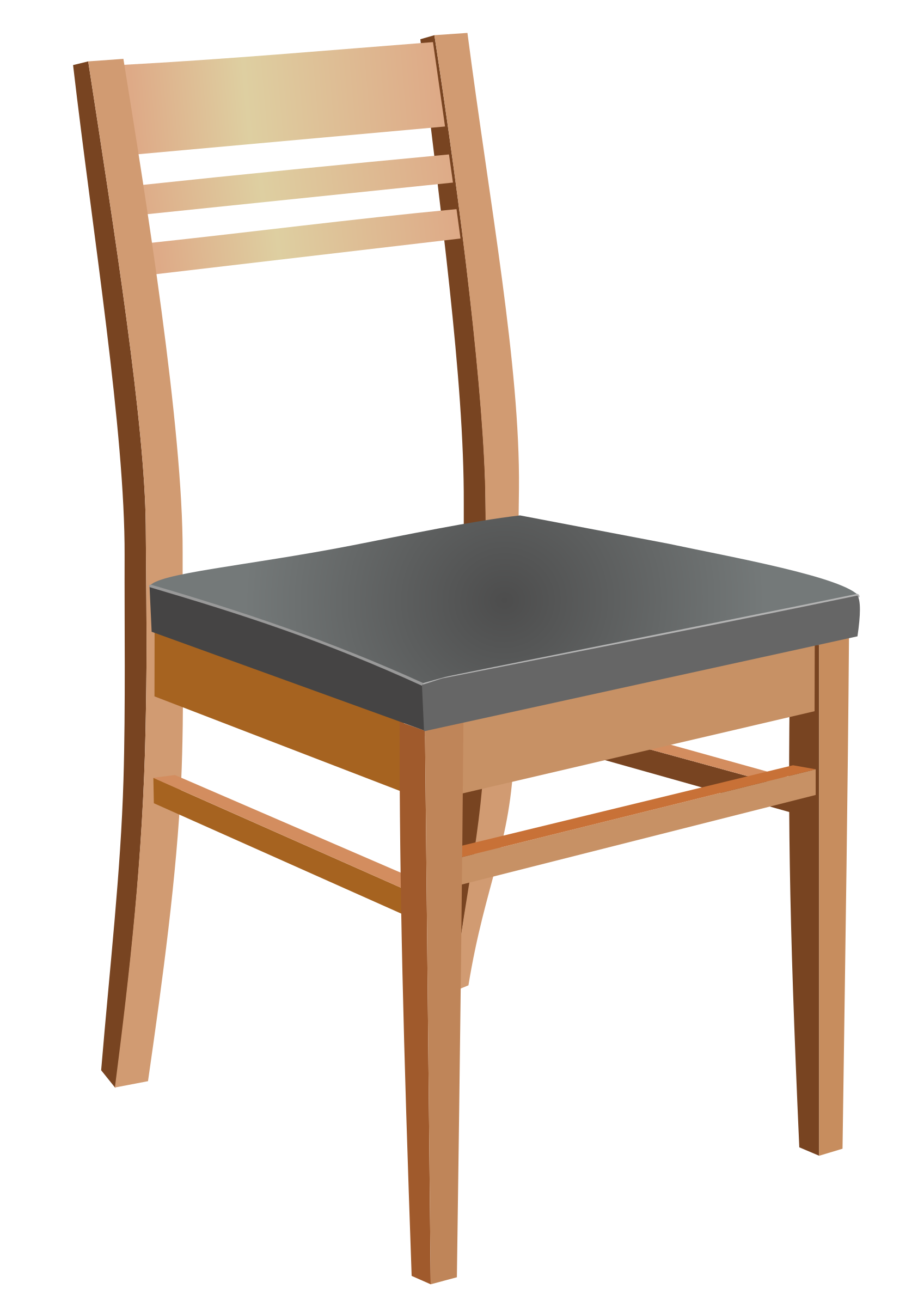 Wooden Chair Vector Art. image - Free stock photo - Public ...