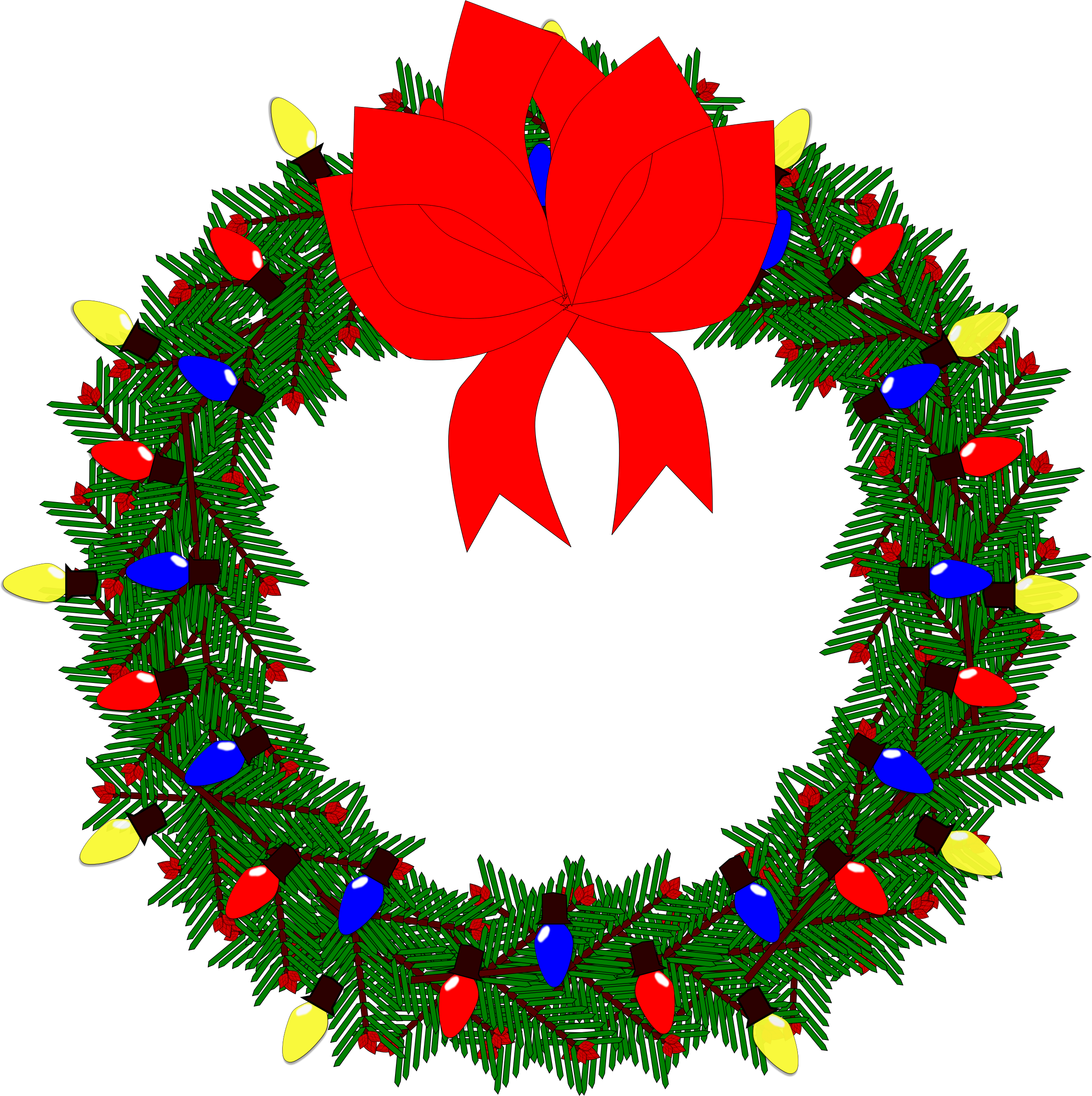 Wreath vector clipart image - Free stock photo - Public ...