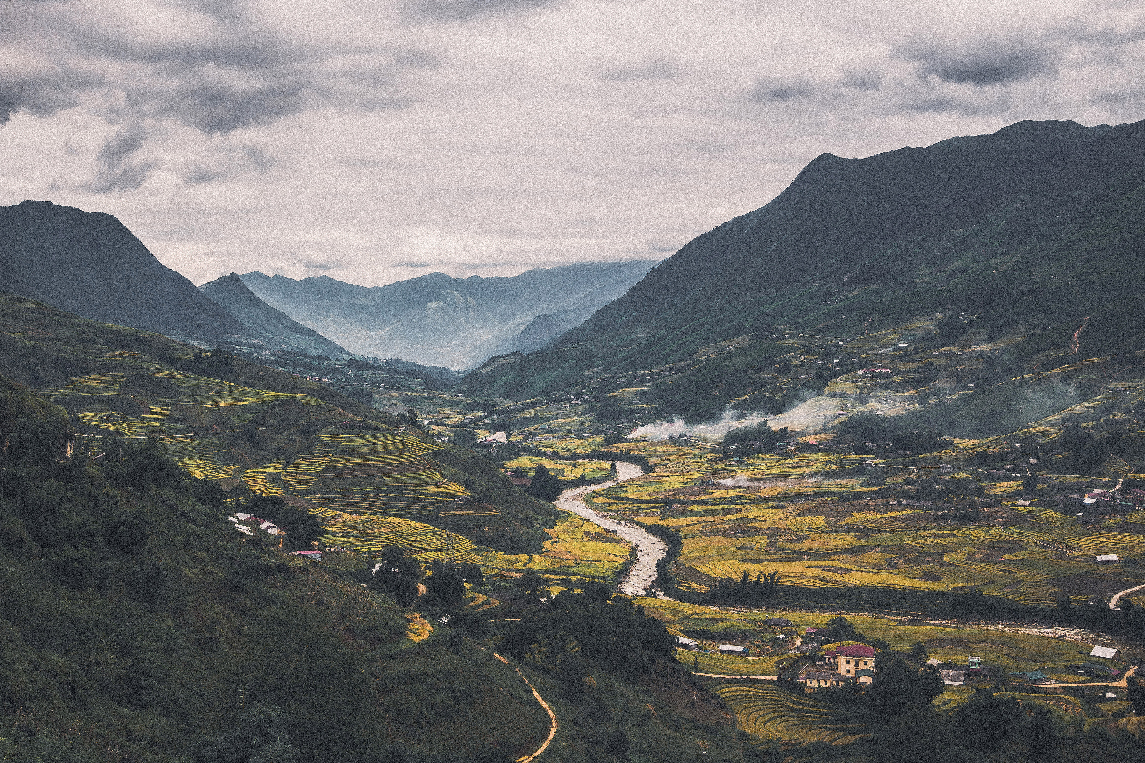 Mountains, river, landscape, and valley in Vietnam - Free Public ...