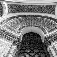 Black and White Door architecture in Algiers, Algeria