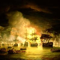 Bombardment of Algiers in 1816 in Algeria