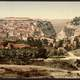 Landscape and city view of Constantine, Algeria 1899