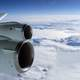 Flying over the snow and ice of Antarctica