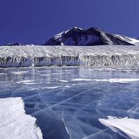 Lake Fryxell, in the Transantarctic Mountains in Antarctica