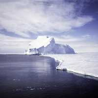 Larsen Ice Shelf View in Antarctica