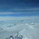 View of Antarctica's Ice Sheet