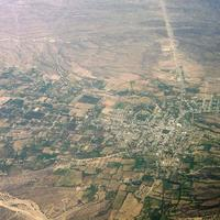 Aerial View of Andalgalá, Argentina