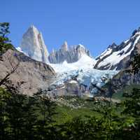 Chaltn Fitz Roy Mountains in Argentina