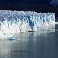 Icebergs and Glaciers at El Calafate, Argentina.