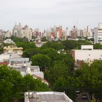 Panoramic view of La Plata in Argentina