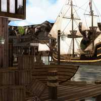 Pirate Town and Pirate Ship
