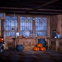 Wizards Room 3d models with pumpkins and other stuff
