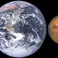 Comparison of Earth and Mars