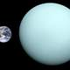 Comparison of Uranus and Earth