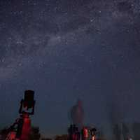 Watch the stars and sky with Telescopes