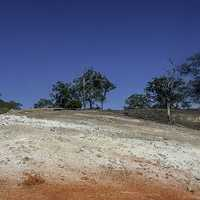 Arid landscape in New South Wales, Australia