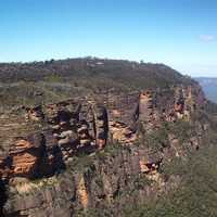 Cliffs, bluffs, and landscape in New South Wales, Australia