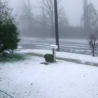 Large Hailstorm in Armidale, New South Wales, Australia