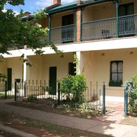 Victorian Terraces in Dubbo, New South Wales, Australia