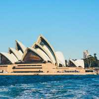 Opera House in Sydney, New South Wales, Australia