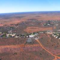 View or Yulara, Northern Territory, Australia