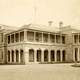 Old Government House from 1879 in Brisbane, Queensland, Australia