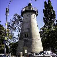The old Windmill in Wickham in Brisbane, Queensland, Australia