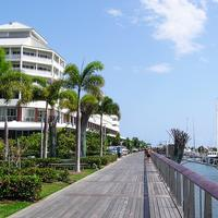 Cairns Pier view in Queensland, Australia
