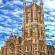 Great church and cathedral in Adelaide, Southern Australia