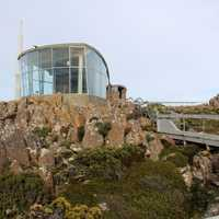 Station on Mount Wellington in Hobart, Tasmania, Australia