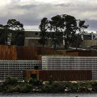 The Museum of Old and New Art in Hobart, Tasmania, Australia