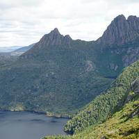 Cradle Mountain Landscape in Tasmania, Australia