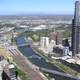 Melbourne Cityscape with Eureka Tower, Victoria, Australia