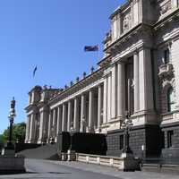 Parliament House in Melbourne, Victoria, Australia