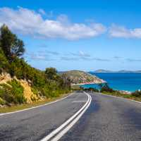 Road at Wilsons Promontory, Victoria, Australia