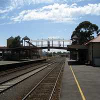 Sunbury Railway Station in Victoria, Australia