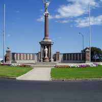 War memorial in Warrnambool, Victoria, Australia