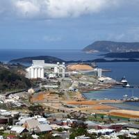 Port of Albany Cityscape in Western Australia