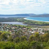 View of Lake Seppings from Mount Clarence in Albany, Western Australia