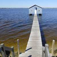 Crawly Edge Boat Shed in Perth, Australia