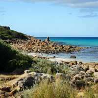 Eagle Bay landscape at Perth, Australia