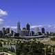 Panoramic Skyline View of Perth, Australia