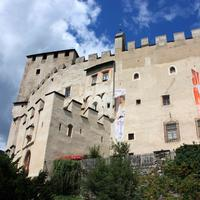 Bruck Castle with medieval walls in Lienz, Austria