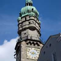 City Tower in Innsbruck, Austria