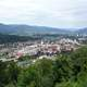 Overview of Kapfenberg in central Austria